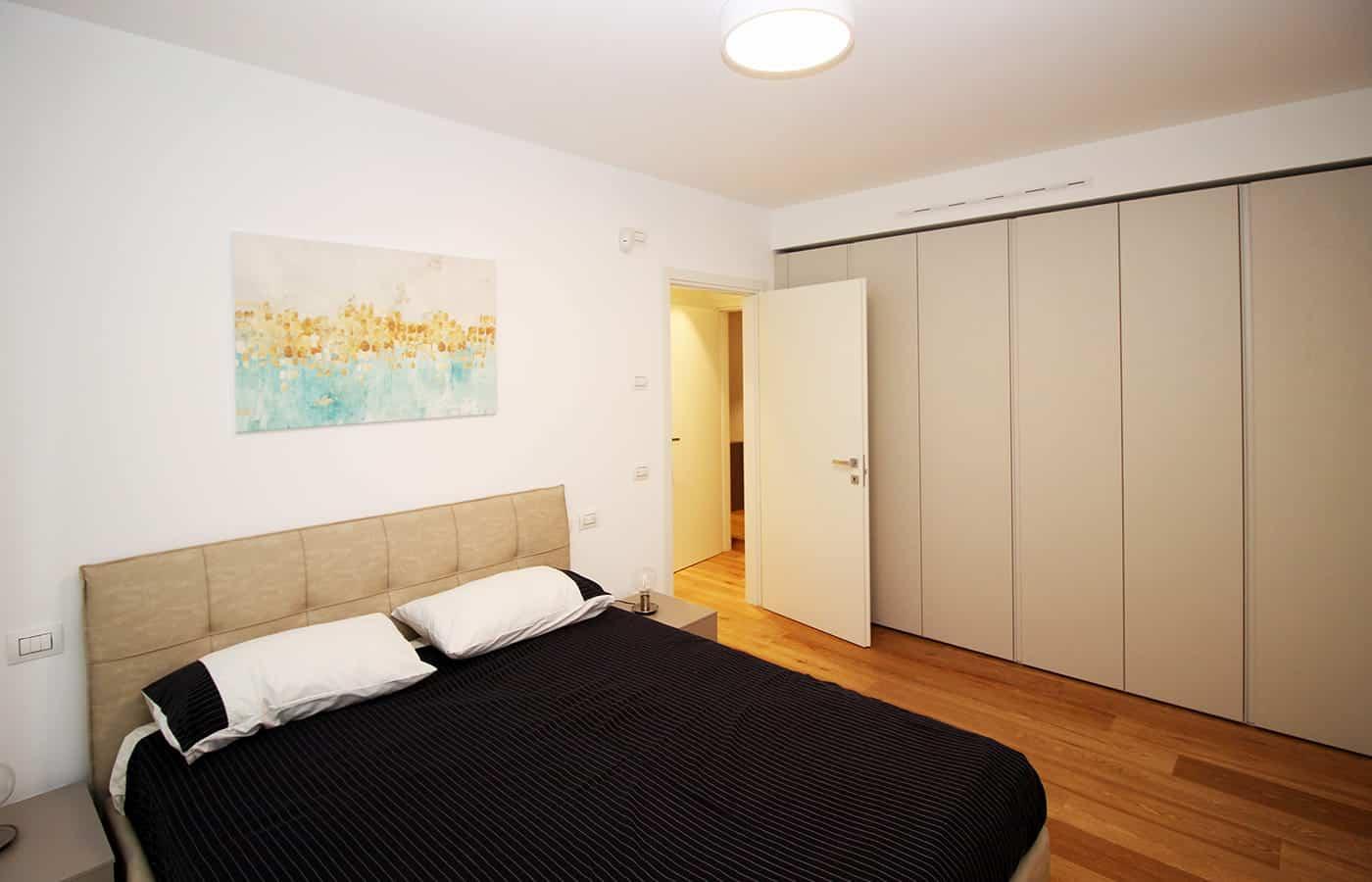 Camera da letto - Progetto Corso Porta Vigentina Milano - Il Mobile