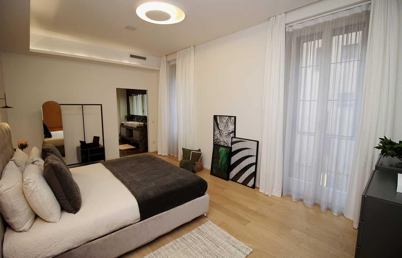 Camera da letto - Progetto Via Santo Spirito Milano - Il Mobile