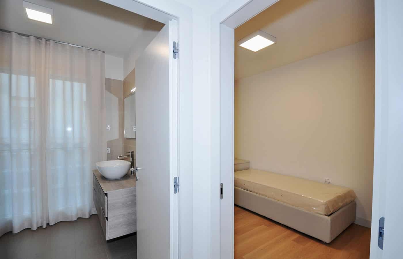 Corridoio Bagno - Progetto Via Varese Milano - Il Mobile