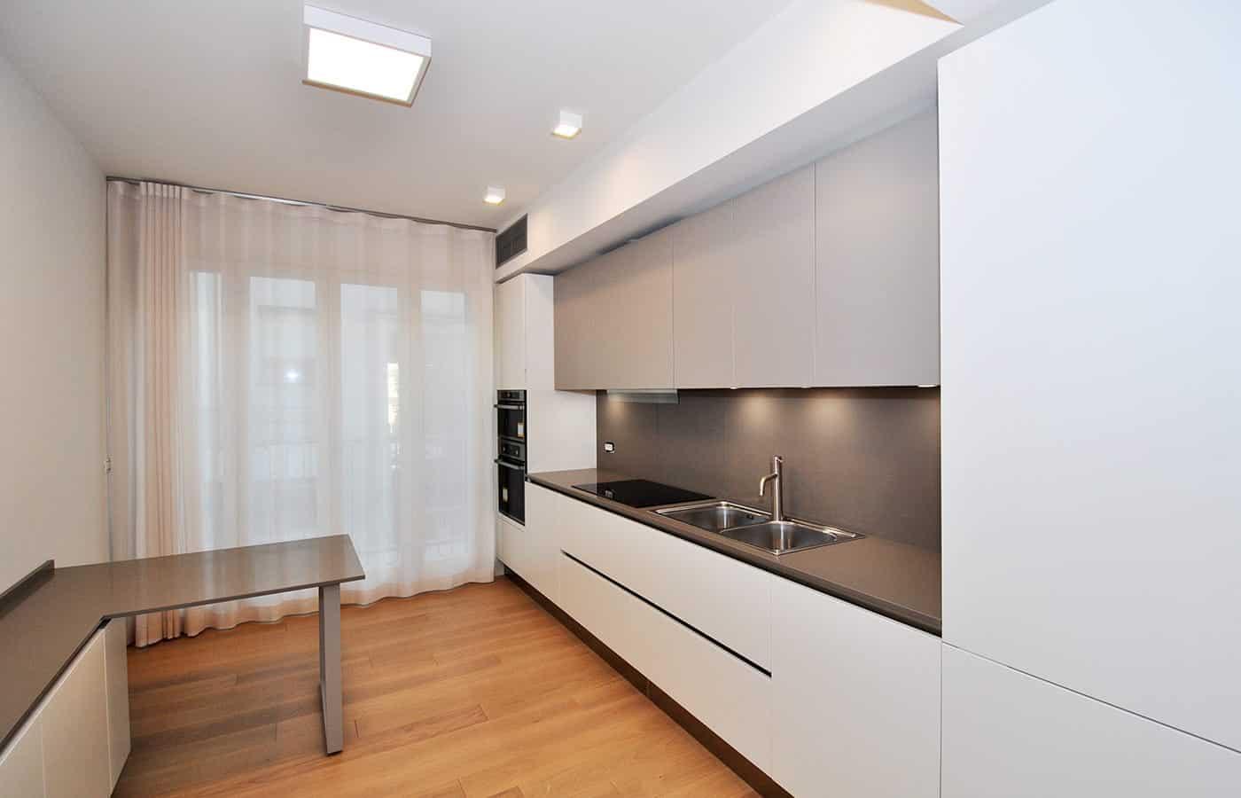 Cucina - Progetto Via Varese Milano - Il Mobile