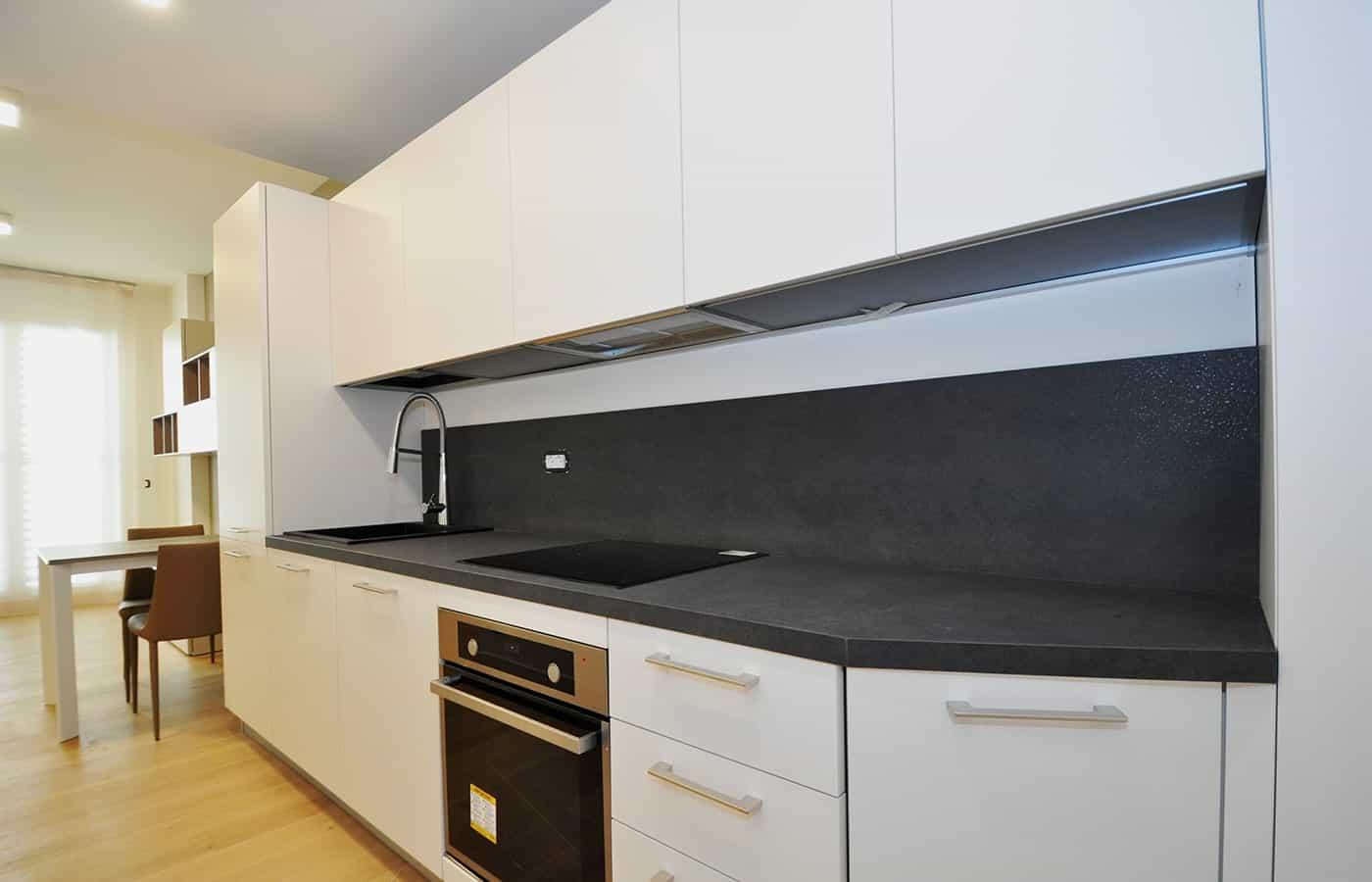 Cucina - Progetto Via della Moscova Milano - Il Mobile