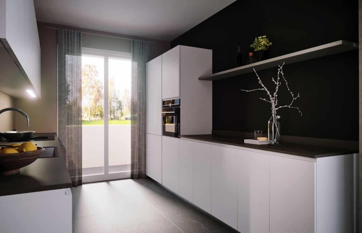 Cucina - Progetto Viale Campagna Milano - Il Mobile