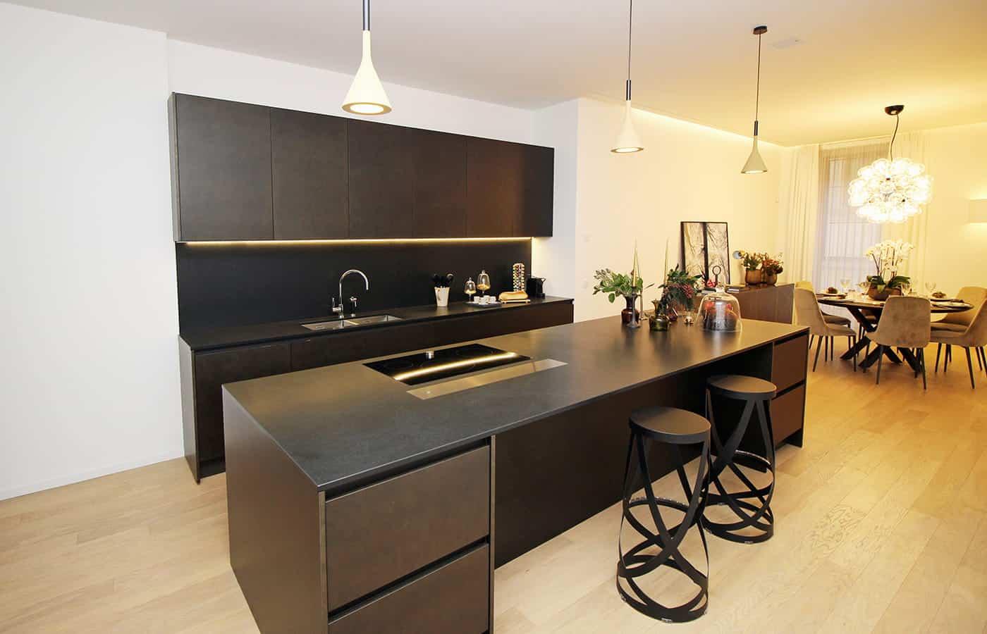 Tavolo Cucina - Progetto Via Santo Spirito Milano - Il Mobile