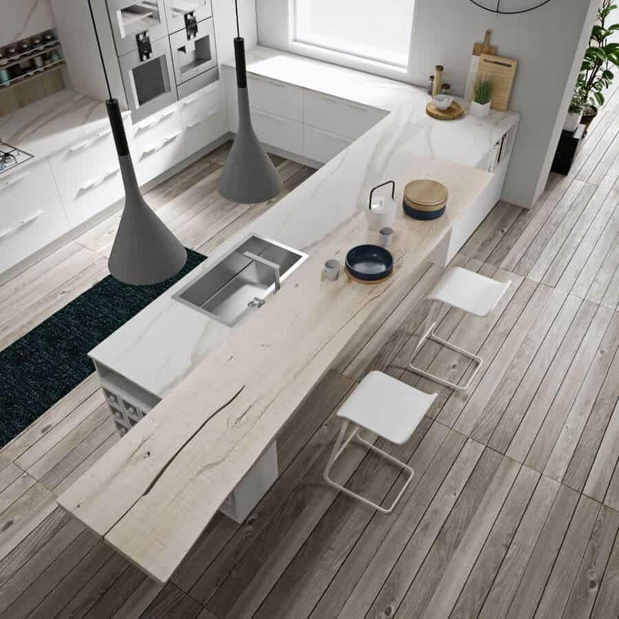 cucina-piano-snack-sbalzo-legno-forte-spessore-collezione-ginevra-il-mobile