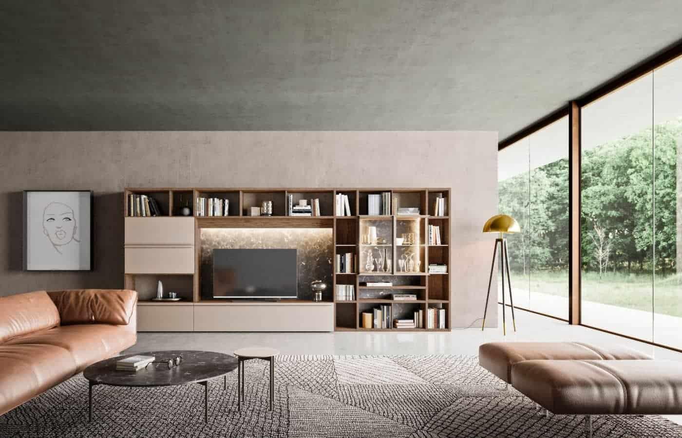 zona-giorno-librerie-collezione-girasole-il-mobile (1)