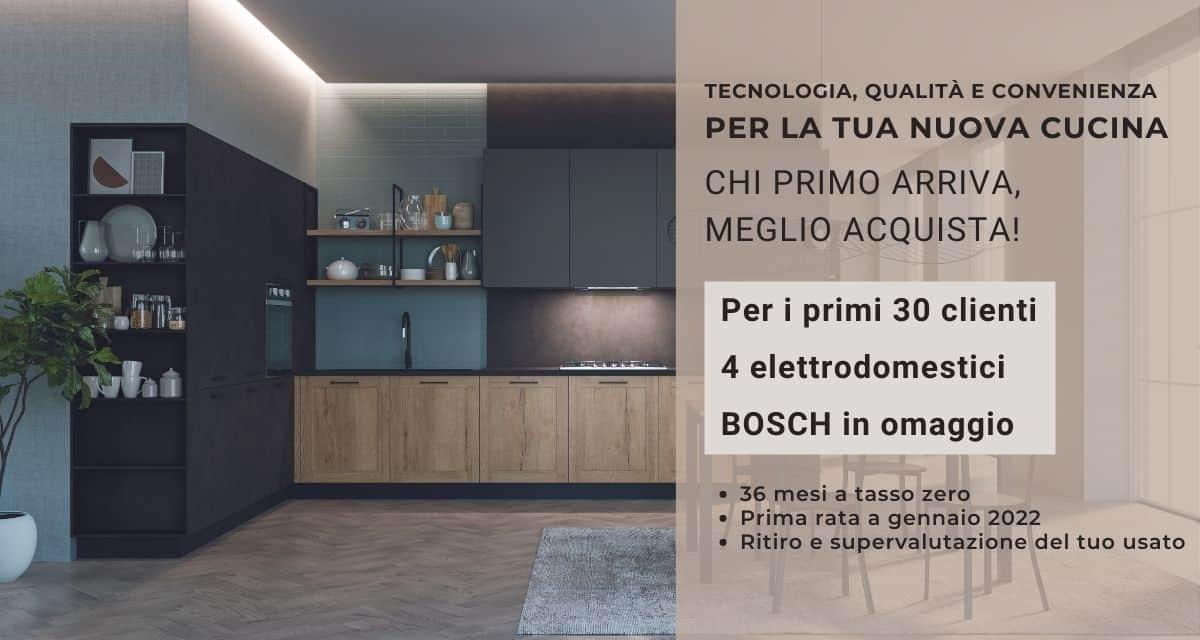 Tecnologia, qualità e convenienza per la tua nuova cucina